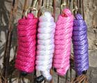 Brightly Coloured Woven Lead Ropes