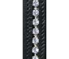 HKM Leather Single Diamante Browband