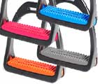 Shires Premium Profile Coloured Stirrups