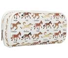 Tyrrell Katz Ponies Large Canvas Wash Bag - White