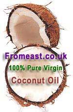 Coconut Oil - 100% Pure Virgin