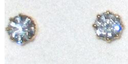 Earrings Swarovski Crystal Stones